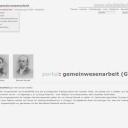 Internetseite www.stadtteilarbeit.de